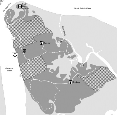 Location Map for South Fenwick Island